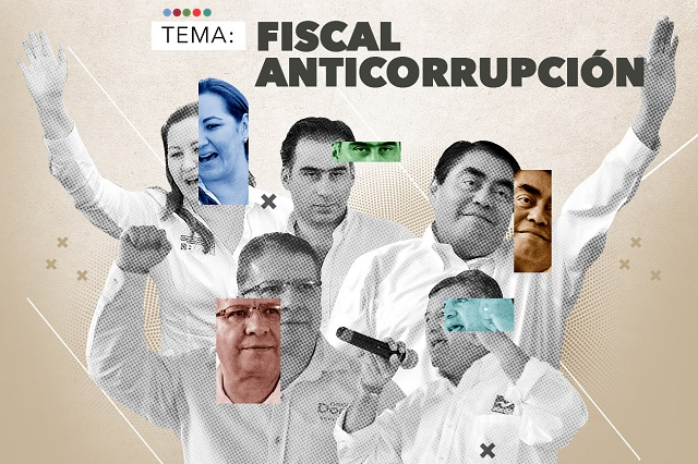Candidatos dejan al Congreso que nombre al Fiscal Anticorrupción