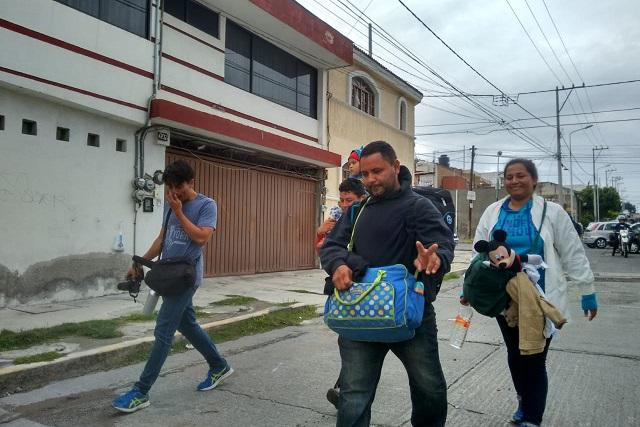 Tras ser baleado, hondureño se sumó a caravana y llegó a Puebla