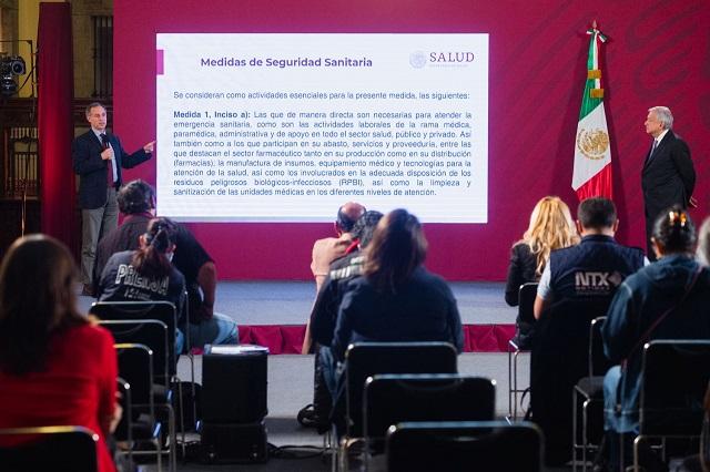 Más confiable López-Gatell que AMLO ante Covid: Enkoll
