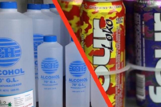 Four Loko contiene alcohol etílico y etanol desmedido