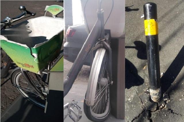Acusa CycloShare serie de robos y daños a sus bicis en Puebla