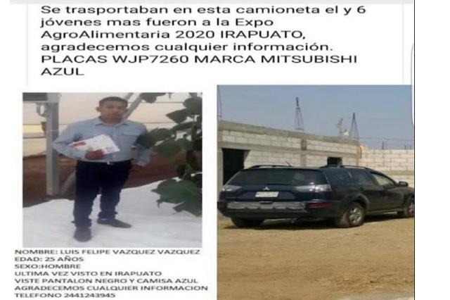 Desaparecen agrónomos poblanos por más de 2 días en Guanajuato