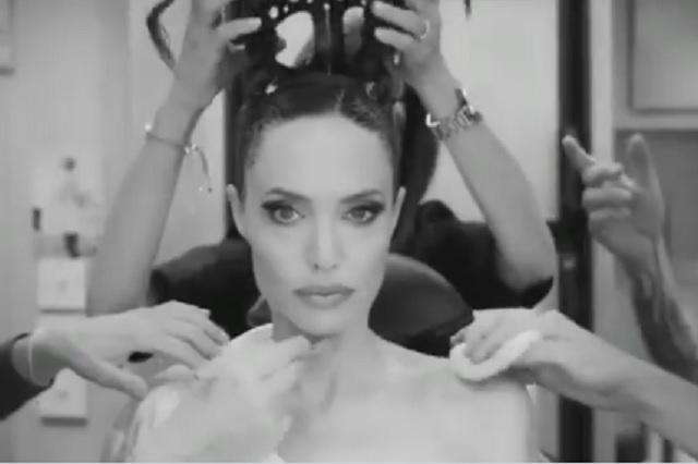 Mira la increíble transformación de Angelina Jolie en Maléfica