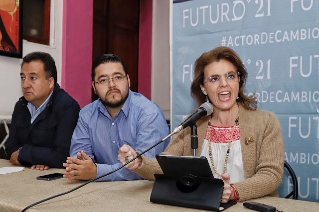 "Con ""Futuro 21"" Migoya busca agrupar bloque contra Morena"