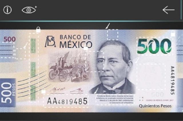 Con esta aplicación podrás detectar billetes falsos