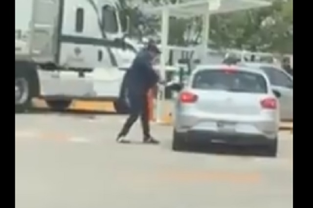 Video: Captan a asaltante que disparó a automovilista