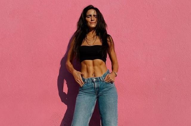 Así lucía Bárbara de Regil antes de ser chica 'fitness'
