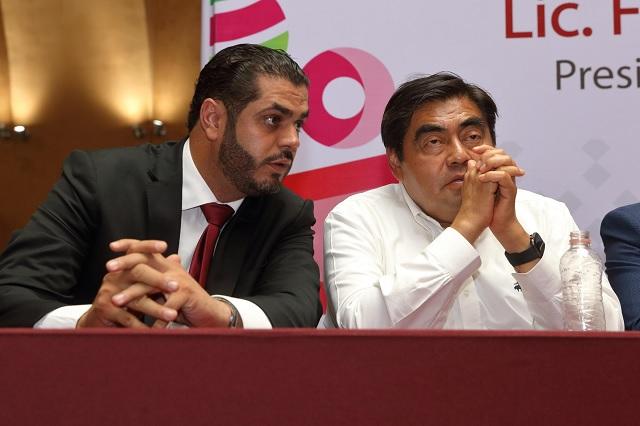 Tehuacán está quebrado pero el gobierno estatal lo va a salvar: Barbosa