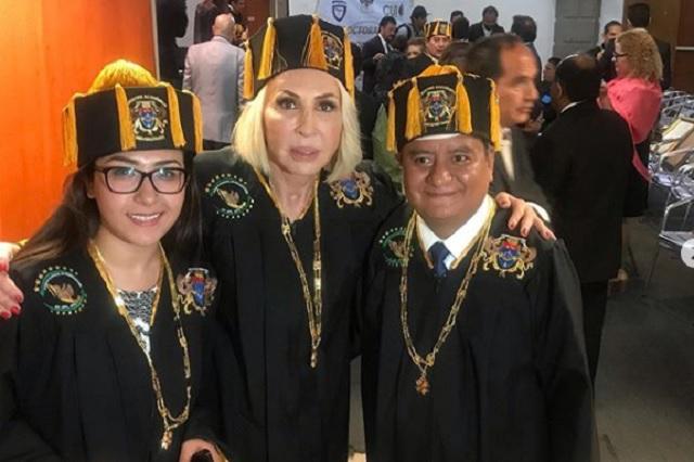 Consejo Doctoral Mexicano busca retirar Honoris Causa a Laura Bozzo