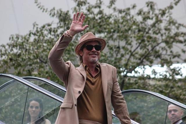 Video: Brad Pitt visita México y es una verdadera locura