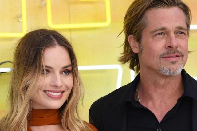 Confirman romance entre Brad Pitt y Margot Robbie