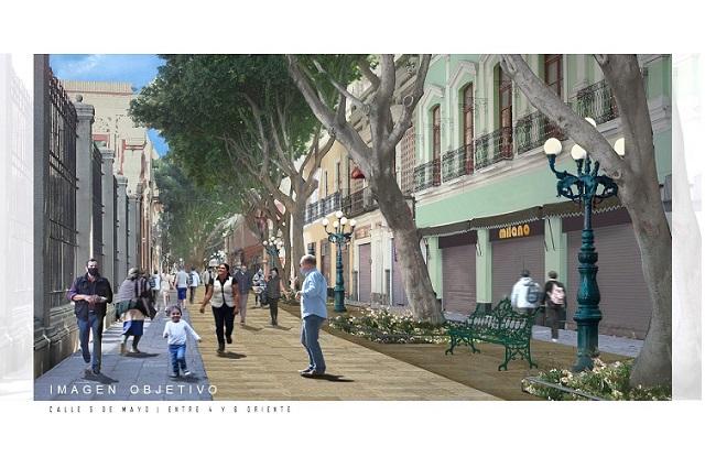 Prometen nueva cara de la 5 de mayo, ciclovía y calles del Centro
