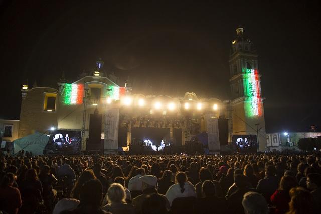 Lista de conciertos en Fiestas Patrias de Puebla 2019