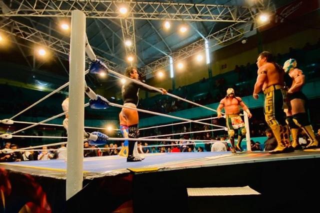 Lunes de lucha libre en la Arena Puebla; mira la cartelera