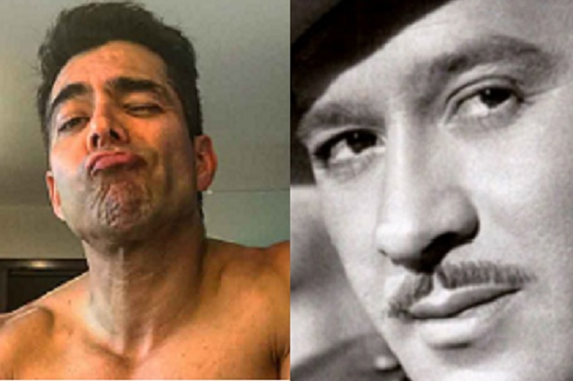 Omar Chaparro comparte adelanto de su actuación como Pedro Infante