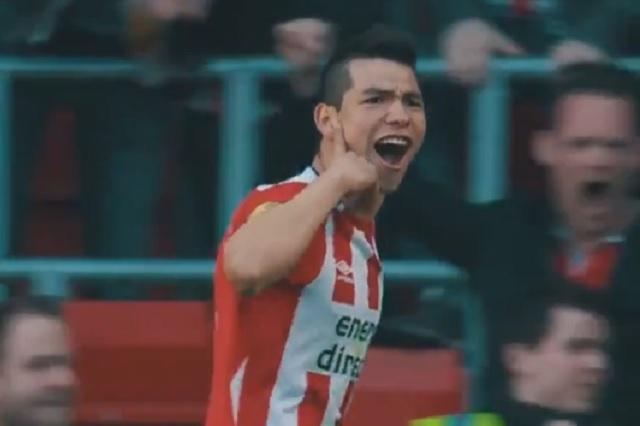 Con emotivo video PSV festeja cumpleaños del Chucky Lozano