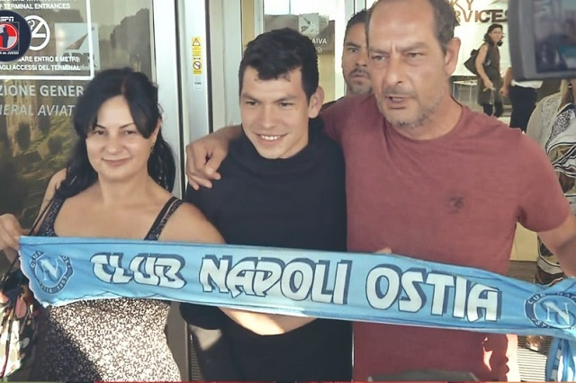 Chuky Lozano: el fichaje más caro en la historia del Napoli