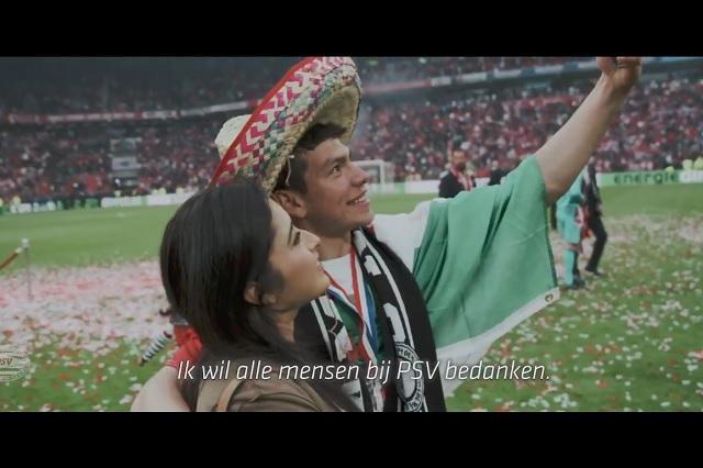 La emotiva despedida que el PSV hizo a Hirving Lozano