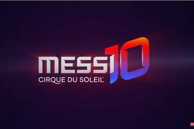 Cirque du Soleil presenta show de Messi