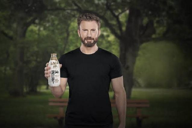 Chris Evans no grabó en México el famoso comercial de leche