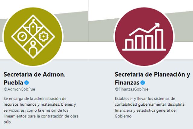 Nuevas cuentas oficiales del gobierno estatal en twitter y facebook