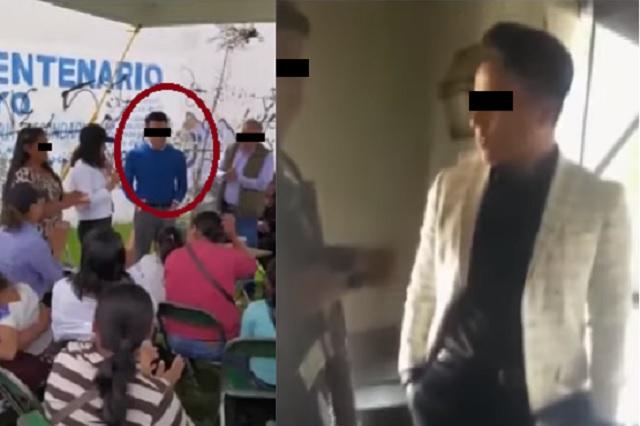 Cae supuesto diputado de Cholula por vender plazas falsas en 40 mil pesos