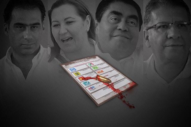 Calienta inseguridad el debate por la gubernatura de Puebla