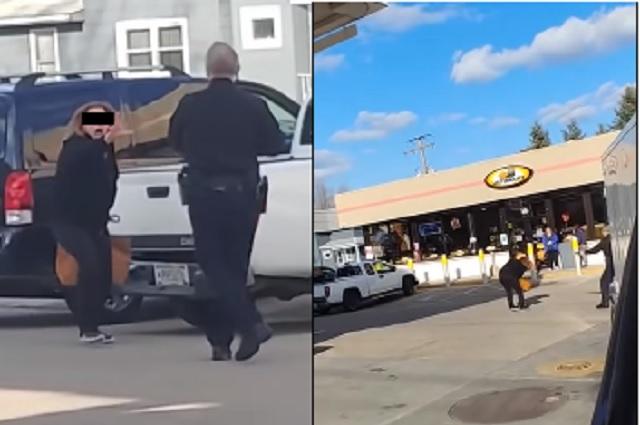 Electrocutan a supuesta mujer poseída por querer atacar a policía