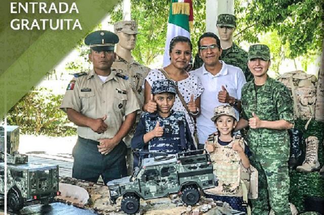 Llega a Puebla exposición del Ejército y Fuerza Aérea