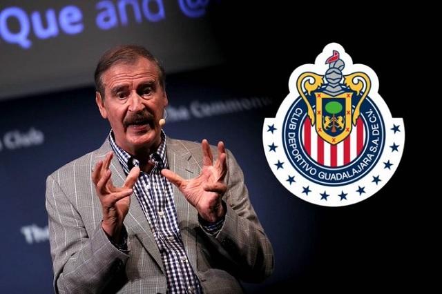 ¿Vicente Fox es el nuevo dueño de las Chivas?