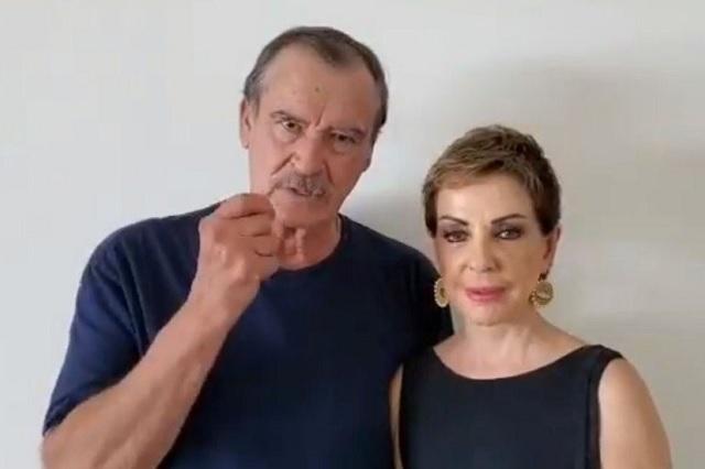 Vicente Fox se burla de AMLO por dar un grito 'triste'