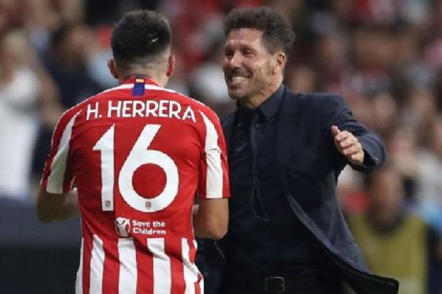 Revelan por qué Héctor Herrera es suplente con el Atlético de Madrid
