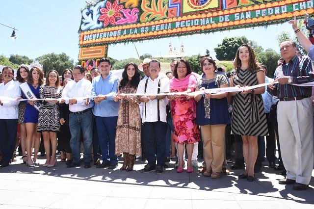 Comienza la edición 69 de la Feria de San Pedro Cholula