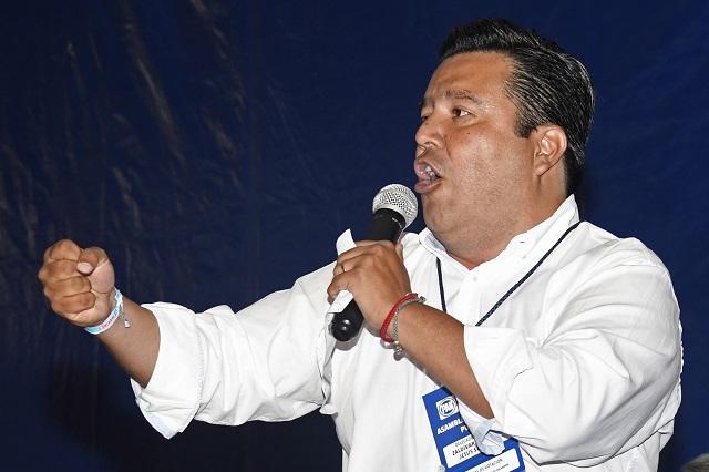 Jesús Zaldívar es el nuevo dirigente del PAN en Puebla