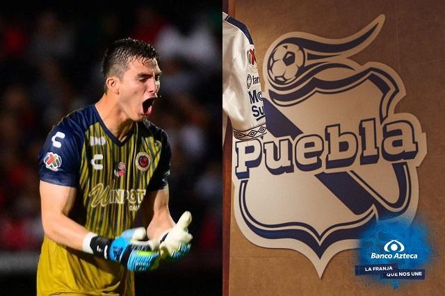 Sebastián Jurado podría defender el arco del Club Puebla