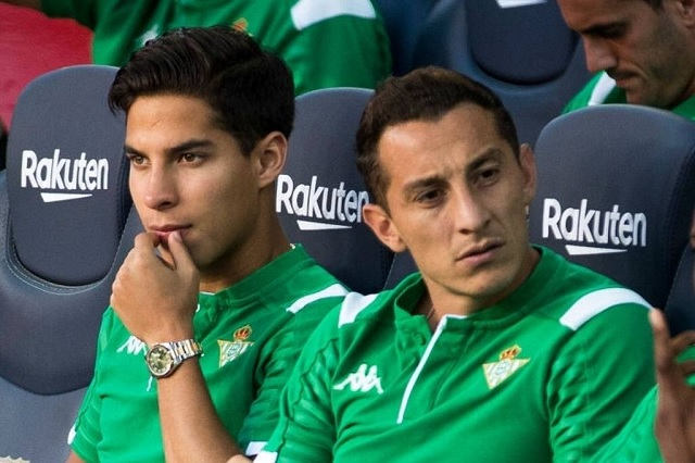 Revelan por qué Diego Lainez tiene pocos minutos con Betis