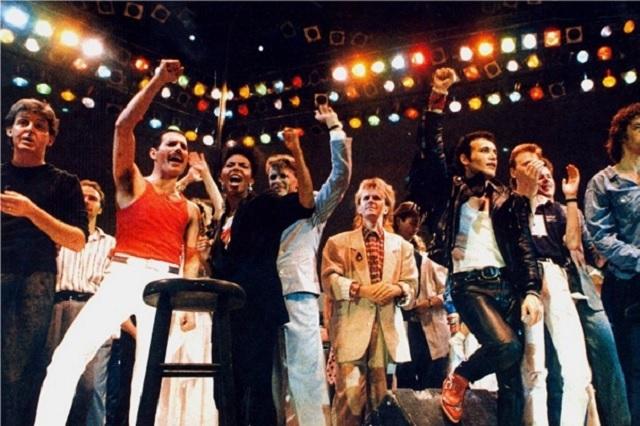 Live Aid, el concierto que se volvió día mundial del rock