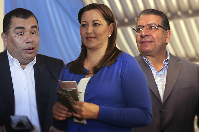 Doger apoya a Martha Erika y López Zavala desautoriza aval