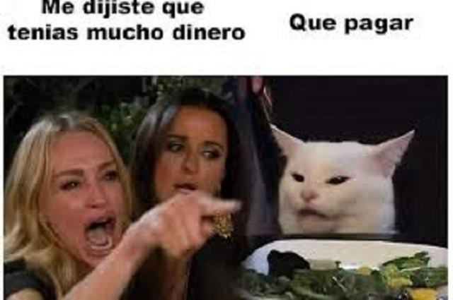 Así nació el famoso meme de la mujer gritándole al gato