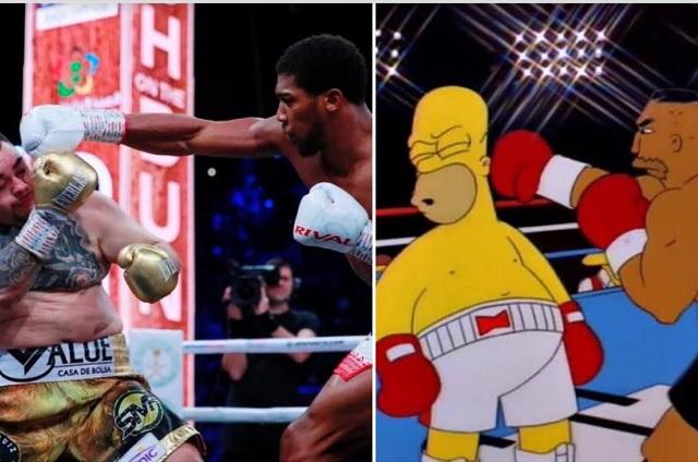 Los mejores memes de la pelea de Andy Ruiz y Anthony Joshua