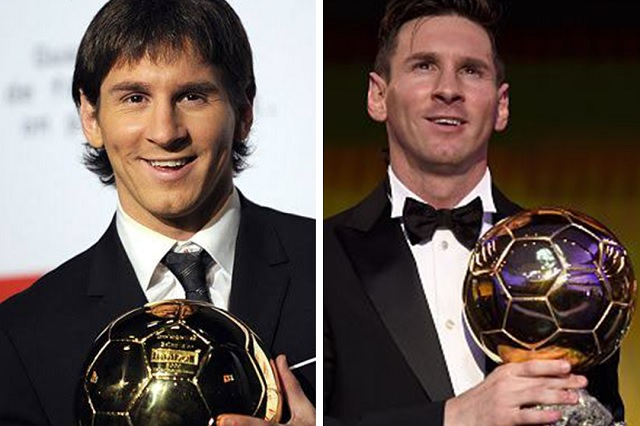 Messi consigue el sexto Balón de Oro de su carrera
