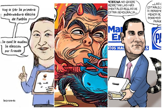 Moneros se dan vuelo con el conflicto electoral en Puebla