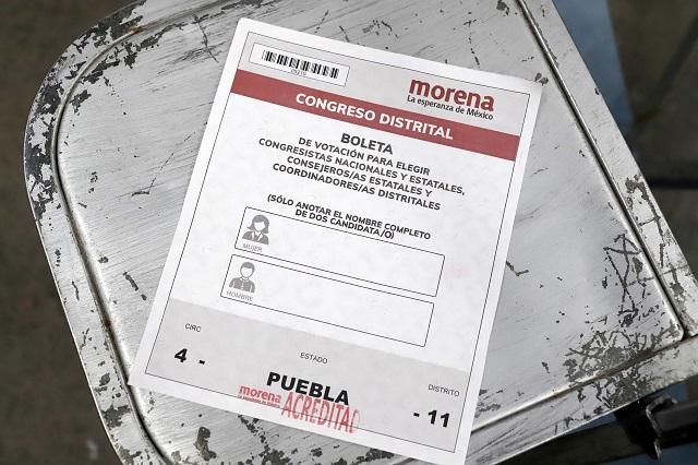 Morena perfila líder interino en Puebla y elección con encuesta