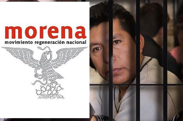 Morena exige a Barbosa liberar al activista Miguel López Vega