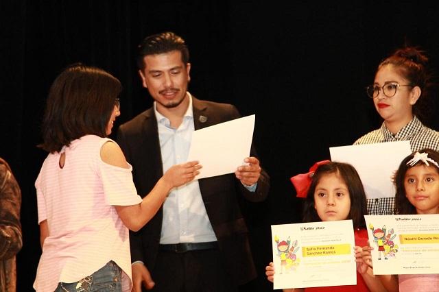 Reconoce IMACP a niñas y niños del programa Horizontes de artistas