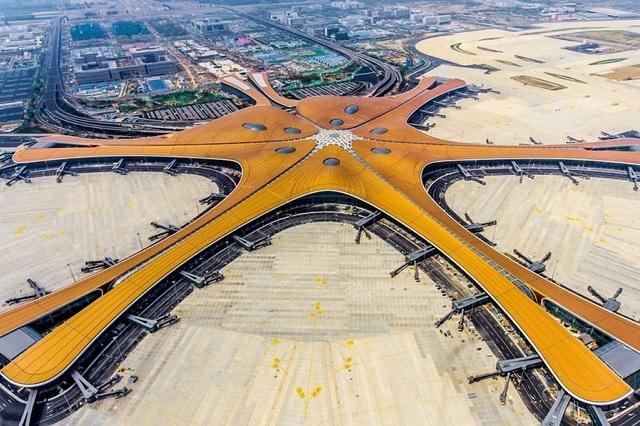 Aeropuerto de China, ¡la nueva maravilla mundial!