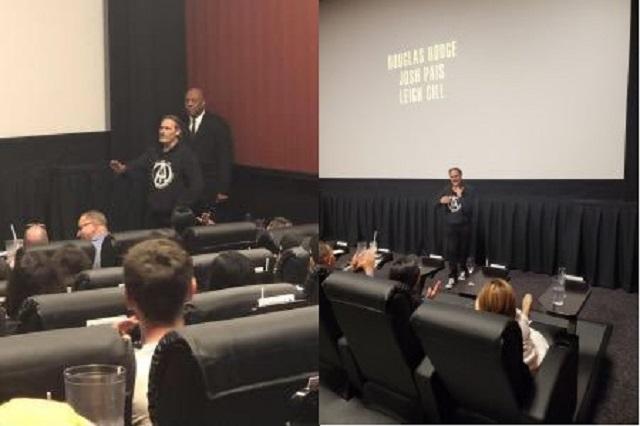 Joaquin Phoenix aparece durante función de Joker en LA