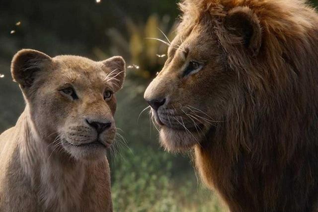 ¿Notaste la escena real en El rey león?