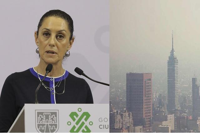 Claudia Sheinbaum asegura que dejará la CDMX 30 por ciento más limpia