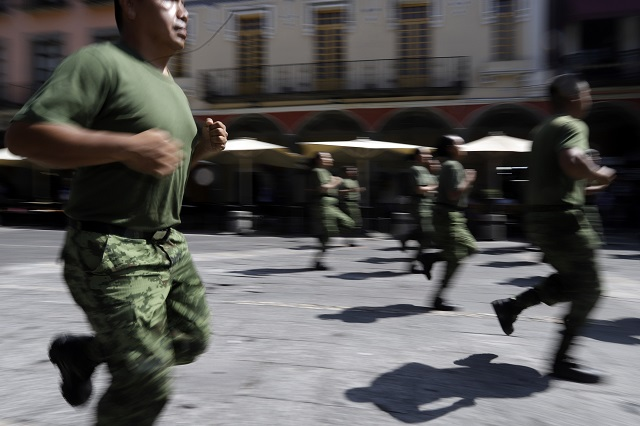 Soldado termina herido tras riña en Puebla capital